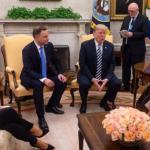 Spotkanie Dudy i Trumpa