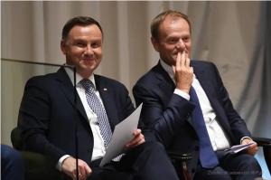 Wp.pl Duda Tusk